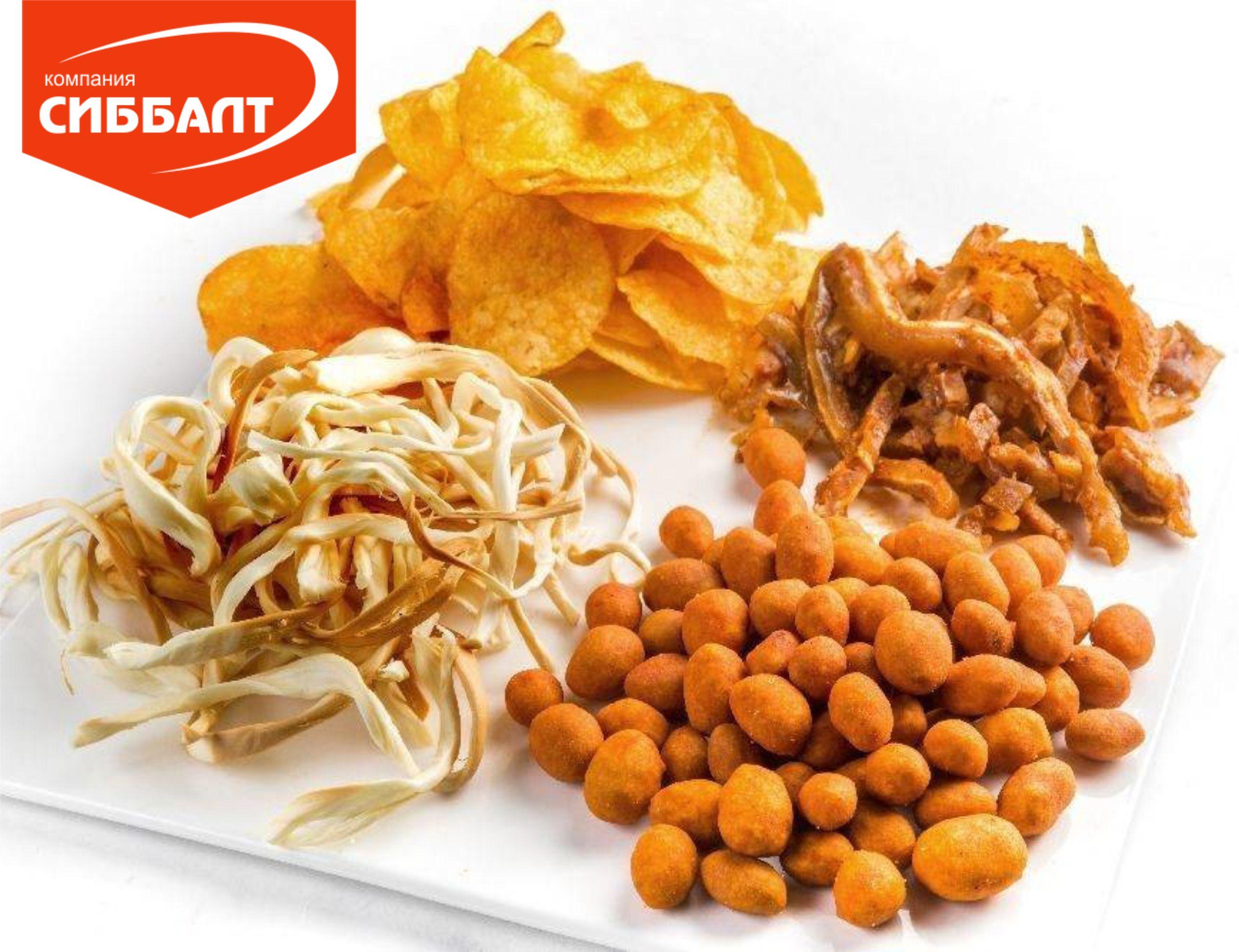 Картофельные чипсы от производителя