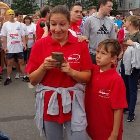 Компания Сиббалт на марафоне 2018
