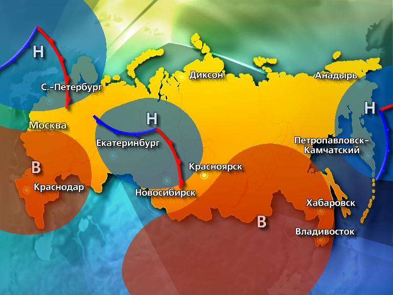 Погода на Юге России