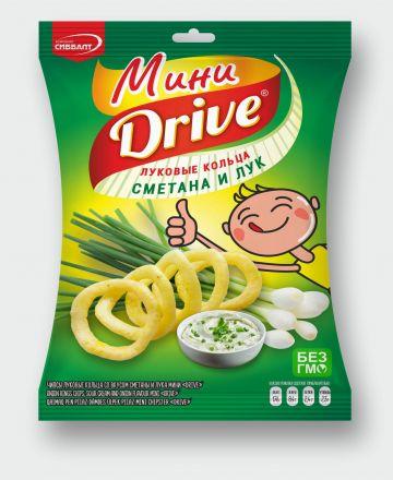 Мини Drive» со вкусом сметаны и лука