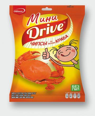 Мини Drive» со вкусом краба.